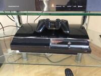 PlayStation 3 60gb console. Backwards compatible.