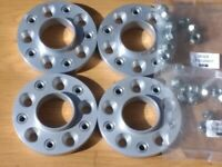 20mm H&R WHEEL ADAPTORS SPACERS 5x114.3 To 5x120 NISSAN To BMW FOR ALLOYS WHEELS DRIFT
