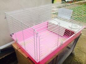 Rabbit and guineu pig cage for sale