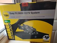 Yale Easy Fit 960H CCTV System - 4 cameras - 1TB hard drive - Day/night vision