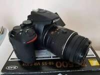 Nikon D5500 Dslr 18 55mm VrII Lense