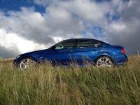 BMW 325D 2006 (56) E90 325 D M Sport 3.0 Diesel Manual Le Mans Blue Like 330d 320d