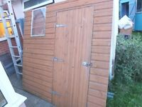 Townsend pent shed