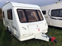 Elddis Avante 362, 2 Berth Touring Caravan, Immaculate Condition
