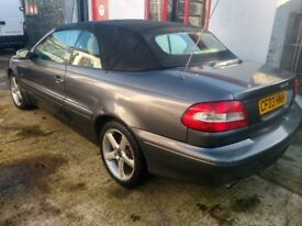 Volvo C70 2.0 Turbo Convertible 79500 Full Service History