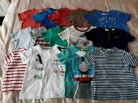 Boys Summer Clothes 18mths-2yrs