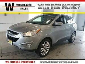 2011 Hyundai Tucson LIMITED|SUNROOF|LEATHER|AWD|139,196 KMS