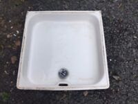 Shower Tray - Royal Doulton - vintage