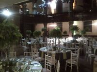 WEDDING/EVENT PLANNER, PART TIME WAITERS, HOSTESS STAFF, CHEFS FOR EVENTS.