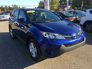 2015 Toyota RAV4 LE AWD ONLY $187 BIWEEKLY WITH ZERO DOWN!