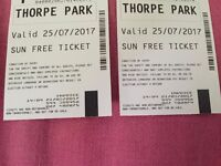 Thorpe Park tickets