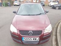 Volkswagen Polo 1.2 E 3dr Petrol 2005 Manual Red vosa verified warranted mileage history.