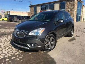 2014 Buick Encore Leather NAVIGATION SUN ROOF BACK UP CAMERA