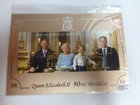 Queen Elizabeth 90th birthday stamps