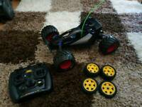 Tamiya fighter buggy madbull remote control car rc