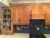 WOODEN kitchen unit doors