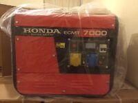 Honda generator 13hp 7kva silent