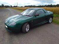 MG TF, 2003, Soft Top. Hard Top, Full Mot.