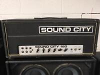 Sound city L120 amplifier head