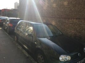 VWgolf 2001.NO MOT. DRIVE WELL QUICK SALE-£1000