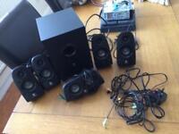 Logitech gaming surround sound 5.1