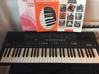 Yamaha PSR-210 electric keyboard with stand