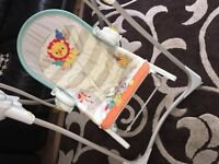Fisher price swing for new 0-12month old babies.