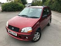 SUZUKI IGNIS SERVICED MOT MAY 2018 1 OWNER RED