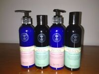 Neil's Yard shower gels and body lotions, buy each or all together