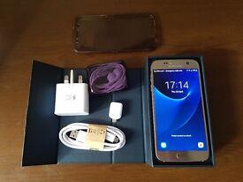 Samsung S7, unlocked, boxed