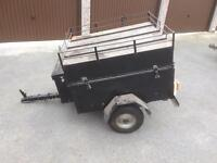 3.5 ft x 3 ft box lid Camping car boot tip run trailer