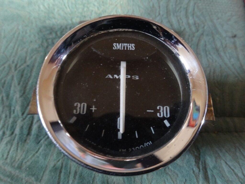 Smiths Ammeter 30+ - 0 - -30