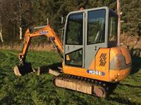 Hanix H26B Mini Digger 2001