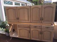 Oak Kitchen, solid oak doors