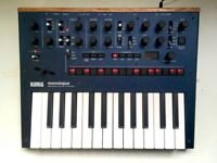 Korg Monologue – analogue monophonic synthesizer synth