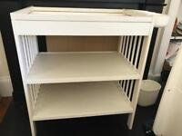 IKEA Changing Table and storage attachments