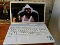 Sony vio i3 verry farst pictur qwilerty is amazing web cam dvd i3 240ghz 4 cors