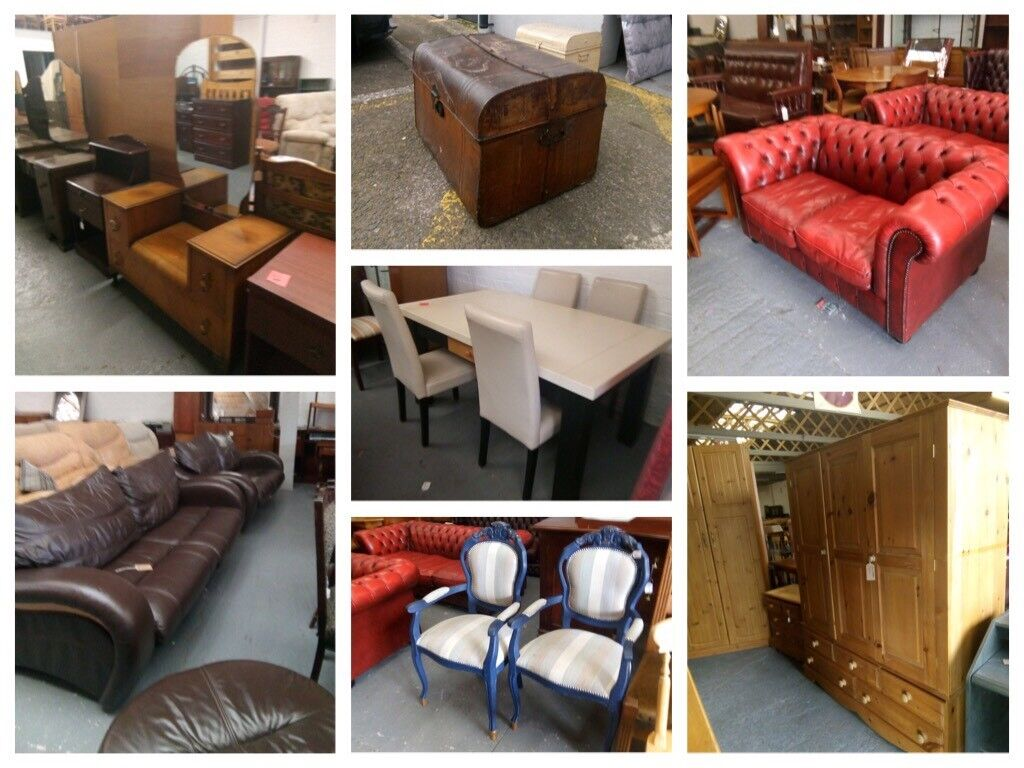 SOFAS, CHAIRS, TABLES, WARDROBES, DRESSING TABLES, DRAWERS, VINTAGE FURNITURE, CABINETS