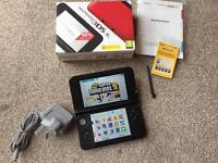 Nintendo 3ds XL boxed with charger and 32gb Sd Card read info