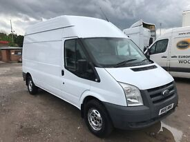 2011 ford transit 2.2 tdci 115t350 6 speed fwd 1 owner ready for work NO VAT