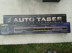 Steering lock taser