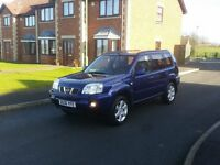 06 REG NISSAN X-TRAIL 2.2 DCI AVENTURA 4X4 JEEP PAN-ROOF SAT NAV LEATHER FREE-DELIVERY VERY CHEAP