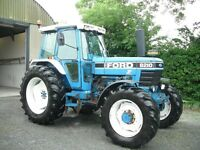 FORD 8210 TRACTOR EXCEPTIONAL CONDITION, LOW HOURS 1986 no vat
