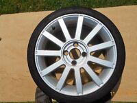 Ford Fiesta ST alloy wheel