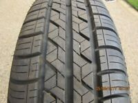 """NEW FIRESTONE FUEL SAVER TYRE 185 X 65 X 15"""" NEVER FITTED NOW SURPLUS TO REQUIREMENTS.."""