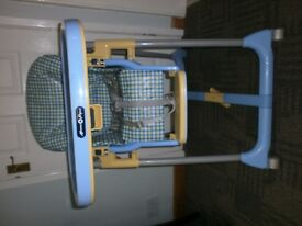Mamas & Papas Blue and Yellow High Chair