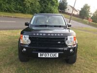 LAND ROVER DISCOVERY 3 TDV6 XS 2.7 DIESEL VERY LOW MILEAGE WITH FULL SERVICE HISTORY