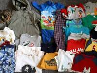 Boy 3-5 years large bundle of clothes shoes