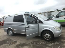 Mercedes vito 115 cdi lwb Parts doors alloy wheels wings lights seats