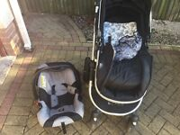 Isafe pram & car seat